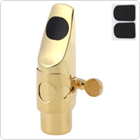 Professional Gold Plated Metal Soprano Saxophone Mouthpiece 5 for Classical Music