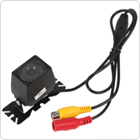 120 Degree Adjustable Angle Car Rear View 1/3 Inch Color CMOS Camera Supporting NTSC