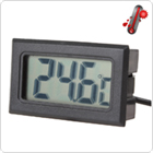 1.5 Inch LCD Display Digital Thermometer for Fridge with 1 Meter Cable