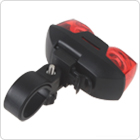 BSK-88 2 LEDs Two Eyes Tail Light Safety Warning Bicycle Rear Light