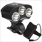 3 x XM-L T6 LED 1800 Lumens Bicycle Light with Power Indicator + 4400mAh Battery Pack