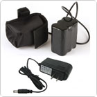 4500mAh 8.4V Rechargeable Battery Pack & Battery Charger for Bicycle Light Headlamp