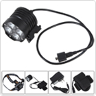 Waterproof 2400Lm 4 x XM-L T6 LED Bicycle Light with 8.4V 4800mAh Battery Pack