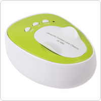 Portable 4ML 100-240V Daily Care Mini Ultrasonic Contact Lens Cleaner Machine Fast Cleaning Gadget