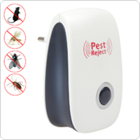 EU Electronic Ultrasonic Anti Pest Bug Mosquito Cockroach Mouse Killer Repeller