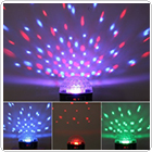 Mini Disco Stage LED RGB Crystal Magic Effect Dot Light Ball