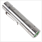 SecurityIng Stainless Steel 700Lm XM-L2 U2-1A LED 5 Modes 114mm Mini Flashlight with Clip
