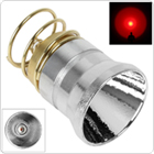4.2V Red Light One Mode LED Bulb for 501B / 502B & / 501D /   502D Flashlight