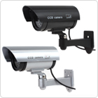 Realistic Looking Simulated Dummy IR CCD Security Camera