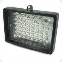 Energy-efficient Dual-Power Weather Proof CCTV IR LED Light Illumination - IP65 Waterproof