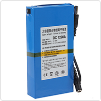 DC 12V Super Polymer 9800mAh Capacity Rechargeable li-ion Battery for CCTV Camera / Transmitter