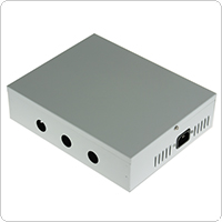 180W 12 Channels AC 100V ~ 240V, DC 12V / 15V Multiple Output Power Supply for CCTV