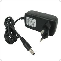 Europe Standard Universal Black DC 12V Output 1000mA AC/DC Power Charger Adapter for CCTV Cameras
