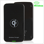 Ultra-thin Black QI Wireless Charger Compatible Fit for Google / Nokia / Optimus