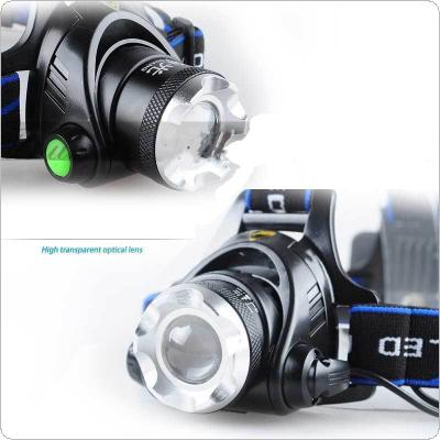 2000 Lm XM-L XML T6 LED Headlamp Headlight Flashlight Head Light Lamp for Fishing / Hunting