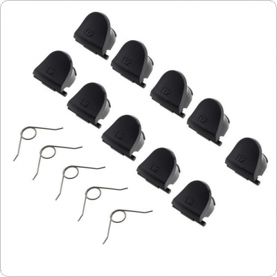 10pcs L2 R2 Trigger Replacement Parts Button Fit for Sony PS4 Controller