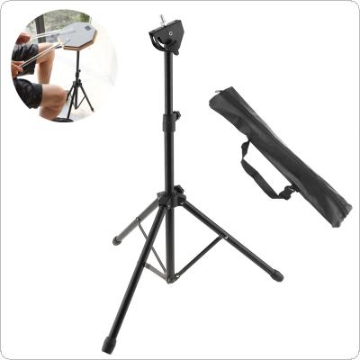 Full Metal Aluminum Alloy Adjustment Foldable Floor Drum Stand Holder with Carry Bag for Jazz Snare Dumb Drum