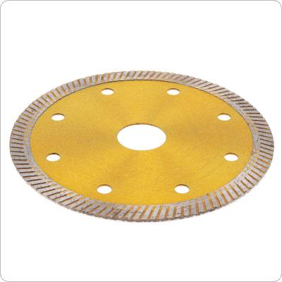 "4"" Super Thin X Shape Diamond Porcelain Saw Blade Fritted Diamond Circular Disc for Cutting Porcelain Tiles"