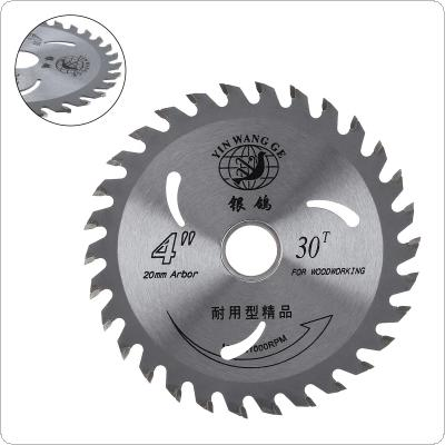 110mm Circular Saw Blade Wood Disc Cutting Tool Aperture 20mm for Rotating Woodworking Tools