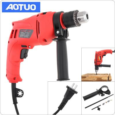 220V 710W High Power Handheld  Electric Drill with Depth Ruler and 13mm Drill Chuck for Handling Screws / Punching / Polishing / Cutting