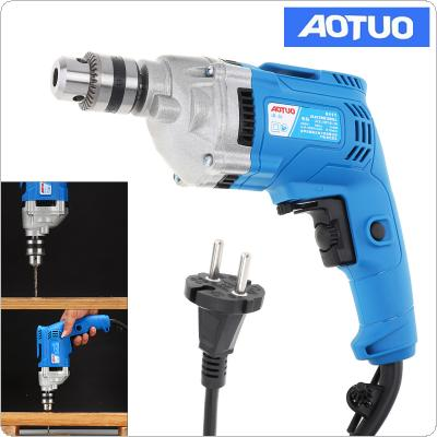 220V 710W Adjustable High Power Electric Drill with Hanging Design and 10mm Stainless Steel Chuck for Handling Screws / Punching / Polishing / Cutting
