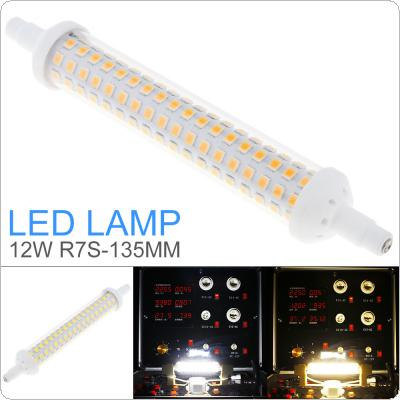 12W 1000LM 144 LEDs 135mm AC 220 - 240V R7S SMD 2835 Mini 360 Degrees Dimmable Warm White / Cool White with Horizontal Plug Corn Light / Replace Halogen Lamp