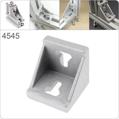 45 Aluminum Corner 45x45 L Shape Right Angle Support Connector Extrusion Industrial Aluminum Profile