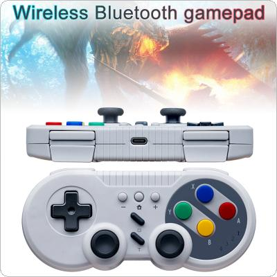 Wireless Bluetooth Pro Game Controller Handle with Mini shape + Color Key + One-click Connection to Console Fit for Switch Console / Switch PRO Controller / PC