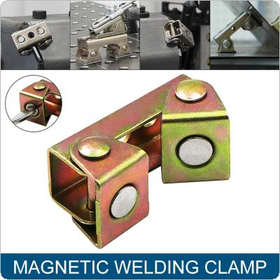 V Type Magnetic Welding Fixture Stainless Steel Adjustable Durable Strong Welding Holder Clamps