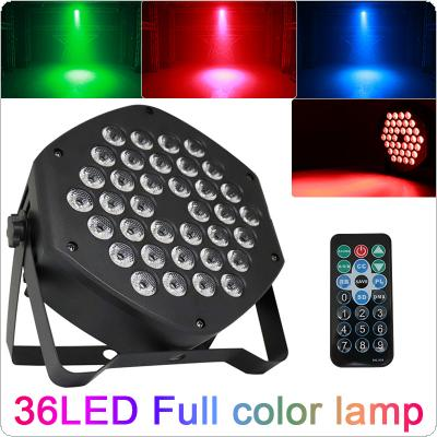 25W 3-in-1 Pattern Dyeing Par Light Full Color Lamp with Voice Control / Self-propelled / DMX / Master-slave / Wireless RF Remote Control for Small Party / KTV