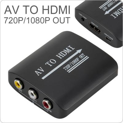 1080P Mini AV to HDMI Converter Fit for Decoration / Construction