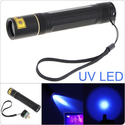 5W 365nm LED Purple Lights UV Flashlight Portable Torch Light for Dry Stains / Bed Bug / Pet Urine Detection