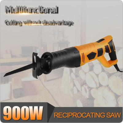 900W 90 Degree Adjustable Electric Reciprocating Saw  Multifunction Rotating Handle Saber Hand Saw for Wood and Metal Cutting Electric Wood Saw