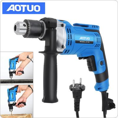 220V 710W Adjustable High Power Electric Drill with Hanging Design and 13mm Stainless Steel Chuck for Handling Screws / Punching / Polishing / Cutting