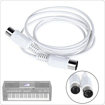 1.5m/4.9ft 3m/9.8ft MIDI Extension Cable 5 pin male to 5 pin male Electric Piano Keyboard Instrument PC Cable