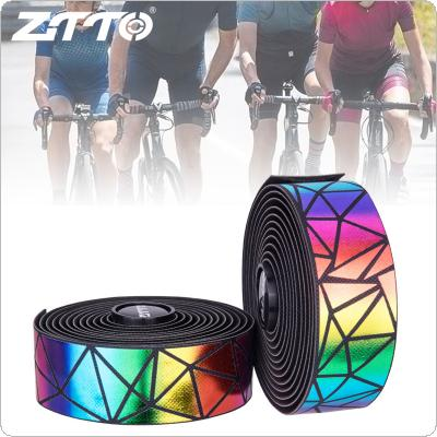 1 Pair Bicycle Handlebar Tape Steering Wheel Cover Road Bike Cycling Handle Non-slip Belt Rubber Tape Bike Accessories Handle Belt